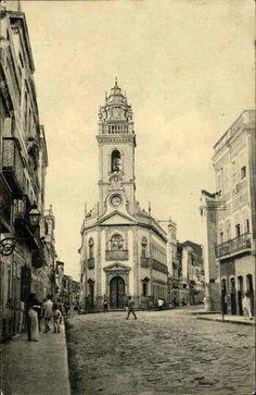 Igreja e Patio do Terço, final do seculo XIX