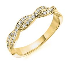 Cross Over Ladies Diamond Wedding Ring from Dublin Jeweller in Ireland - available in platinum and yellow gold and rose gold Different Engagement Rings, Buying An Engagement Ring, Unique Diamond Engagement Rings, Perfect Engagement Ring, Engagement Ring Styles, Gold Diamond Rings, Designer Engagement Rings, Diamond Wedding Rings, Vintage Engagement Rings