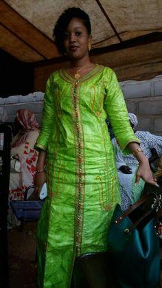 Mali fashion bazin brodé