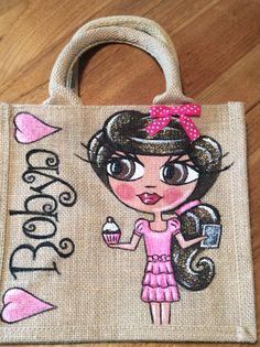 Berrysdesigns.co.uk personalised jute bags
