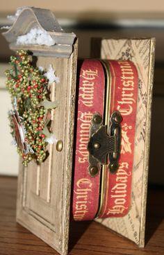 Christmas Altered Altoid Tin