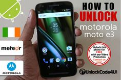 How to Unlock Motorola Moto E3 from Meteor Coding, Phone, Telephone, Mobile Phones, Programming
