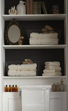 Clever Bathroom Storage | Content in a Cottage