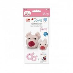 Templates for animal pompoms For example for children's clothing, mobiles, home decor Two sizes In combination with the Pom Pom Template, Sheep Pig, Animal Templates, How To Make A Pom Pom, Cat Mouse, Pick And Mix, Farm Yard, Sign I, Step By Step Instructions