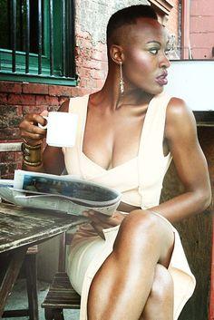 Model: Afua Boni  Photography by Dexter R. Jones