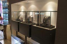 Back glass display