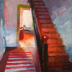 """""""Going Up"""" by liza hirst"""