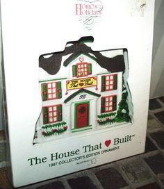 HOUSE THAT LOVE BUILT 1997 COLLECTORS ORNAMENT-dept 56