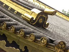 Japan roof detail - temples decoration Japan photo - images free - photo free download - free photo