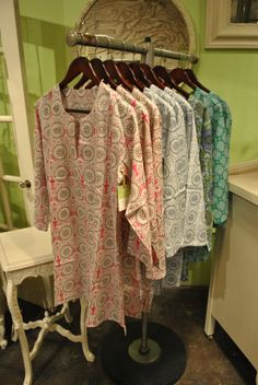 Cotton print tunics