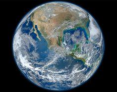 La primera foto de la Tierra en alta definición