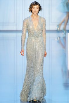 Elie Saab Fall 2011 Couture Fashion Show - Karmen Pedaru (IMG)