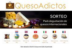 ¿Quieres ganar un estupendo pack degustación de quesos internacionales totalmente gratis?
