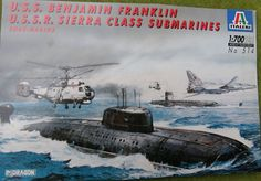 "Italeri 1:700: US ""Benjamin Franklin"" + SU ""Sierra"""