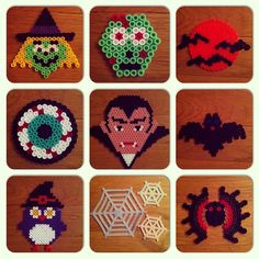 Happy Halloween hama perler beads by zoomerbaby