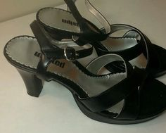 Unlisted Black Strappy Womens Shoes Size 8 | eBay