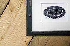 Garret Industrial Wood Picture Frame 8x10 9x12 11x14 14x16