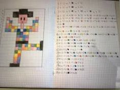 Risultato immagini per coding nella scuola primaria schede pixel art Montessori Baby, Pixel Art, Coding, Design, Color, Sapphire, Colour, Programming