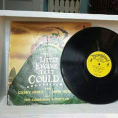 Vintage Vinyl Disney's The Little Engine That Coul Vintage Vinyl Disney's The Little Engine That Could. The cover is beautiful but does show sings of age. The record it's self is in great shape. It would make a fun addition to any childhood. Great audio book or story for bedtime! Disney Other
