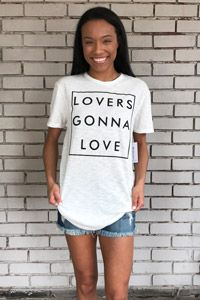 "The Light Blonde ""Love"" Tee"