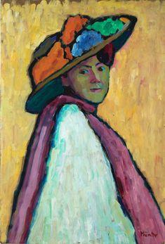 Gabriele Munther German 1877-1962