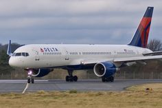 757  | ... Scotland Aircraft Photography - Boeing 757 - Delta Air Lines - N722TW