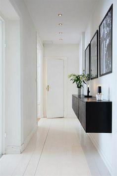 214 meilleures images du tableau Couloir | Long hallway, Narrow ...
