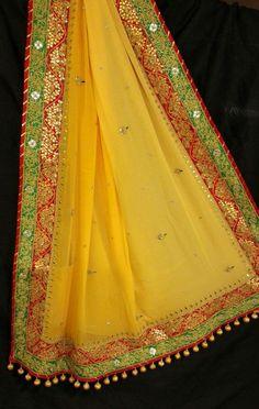 Bridal Mehndi Dresses, Desi Wedding Dresses, Saree Wedding, Pakistani Outfits, Indian Outfits, Saree Kuchu Designs, Indian Designer Wear, Indian Designers, Desi Wear