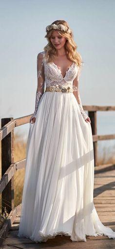 Wedding Dress Inspiration - Victoria F Collection Maison Signore