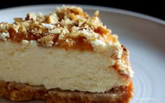 Salted caramel & pecan cheesecake