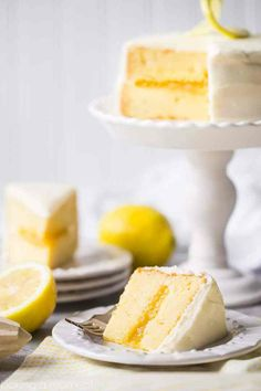 Perfect Filled Lemon Cupcakes Recipe Cream cheeses Sweet and