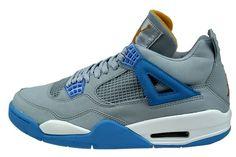 wholesale dealer 63176 50140 Air Jordan 4 (IV) Rétro - Mist Bleu   Bleu Université - Feuille d