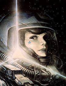 By Juan Gimenez - Fantasy Book Arte Sci Fi, Sci Fi Art, Berenice Abbott, Fantasy Books, Sci Fi Fantasy, Comic Book Artists, Comic Artist, Chevalier Vampire, Alfons Mucha