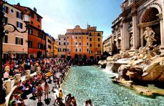 Toss a coin in the Trevi Fountain to ensure a return trip to Rome.