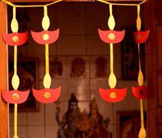 Diwali Party, Diwali Diy, Diwali Celebration, Diy Diwali Decorations, School Decorations, Festival Decorations, Light Decorations, Diwali Activities, Craft Activities For Kids