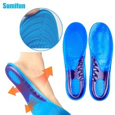 1Pair Unisex Insole Orthotic Arch Support Sport Shoe Pad Sport Running Gel Insoles Massaging Insoles Feet Care C531