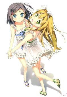 Tsutsukakushi Tsukiko and Azuki Azusa