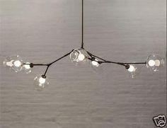 Lindsey-Adelman-3-5-lights-molecular-Crystal-glass-chandelier-Suspension