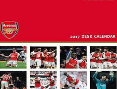TheWorks Arsenal Official 2017 Desk Easel Calendar - Month To View Desk Calendar 2017 The Arsenal Desk calendar for 2017 is a must for any Gunners fan. This desk style calendar features a month on every page with date panel, each month will feature images (Barcode EAN = 9781785491962) http://www.comparestoreprices.co.uk/december-2016-week-1/theworks-arsenal-official-2017-desk-easel-calendar--month-to-view-desk-calendar-2017.asp