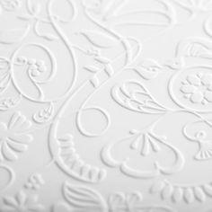 Design white on white wallpaper White Beige, Pure White, Arabesque, Kirigami, Soft Colors, Colours, Paper Cutting, Neutral, White Wallpaper