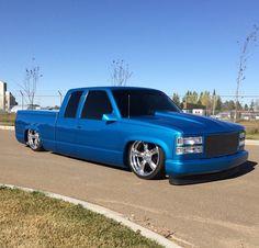 Obs Truck, Sport Truck, Custom Chevy Trucks, Chevy Pickup Trucks, Chevy Pickups, Bagged Trucks, Lowered Trucks, Gm Trucks, Cool Trucks