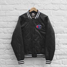 Champion Stadium Jacket Black