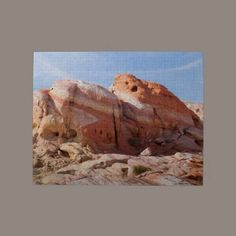 Rainbow Rock Valley of Fire Jigsaw #Puzzle #photos #gifts $16.85