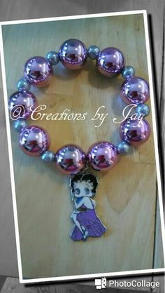 Betty Boop Charmbracelet