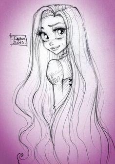 Disney Princess Rapunzel by *darkodordevic on deviantART
