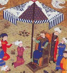 Persian Embroidery - A Study in Miniatures - Sayyida Dinah bint Ismai'l