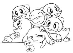 The artist is dying from drawing too much Bubble Bobble