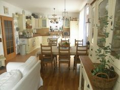 Dining Room, Cottage, Interiors, Rustic, Kitchen, Table, Furniture, Home Decor, Country Primitive