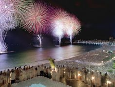 Spend New Years' eve in Rio De Janeiro, Brazil