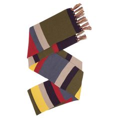 THE FOURTH DOCTOR WHO DELUXE LONG SCARF - Short Scarf also available